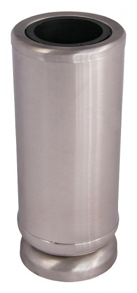 grabvase edelstahl matt grabschmuck shop24 grablaternen vasen schalen weihkessel. Black Bedroom Furniture Sets. Home Design Ideas